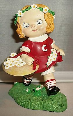Campbell's Soup Kids Figurine GIRL PICKING DAISIES                       A11