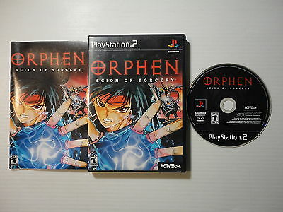 ¤ Orphen Scion of Sorcery ¤ Complete GREAT PlayStation 2 PS2