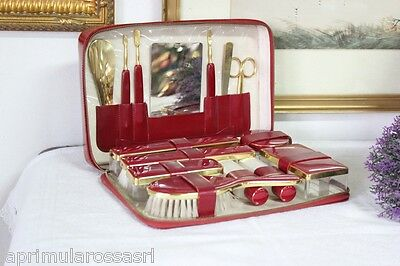 Vintage Special Triple Cut Germany Kit Da Viaggio X Toilette  Set Manicure '70