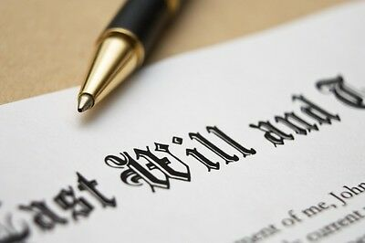 Last Will and Testament - Ready to use Forms - Instructions - Glossary Self Help