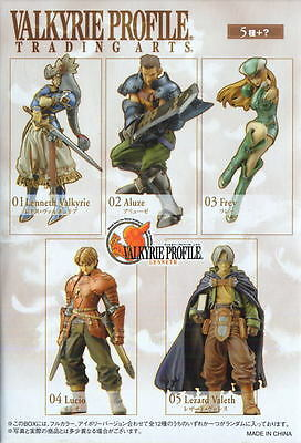 Valkyrie Profile Trading Arts IMPOSSIBLE TO FIND 5 FIGURES SET!