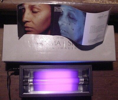 """Small UV Lamp Avon's """"Derma-Spec"""" imager designed for skin evaluation and can be"""