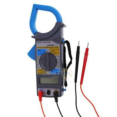 Portable Digital LCD Multimeter Electronic Automatic Tester AC/DC CLAMP Meter