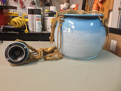Vintage Potted Sound by Mitchell Speakers Pot Speaker Garden Outdoor ULTRA RARE