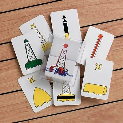 FLIP CARDS - Buoyage System 'A' for Mariners - 31 Cards