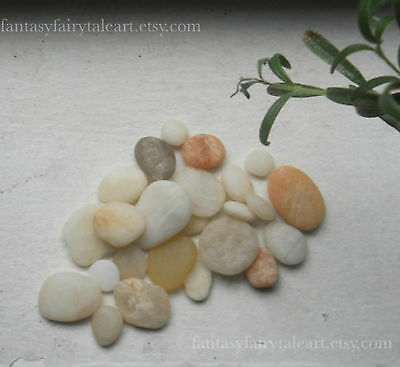Cape May Diamonds, Quartz Crystals, White & Rose Beach Stone Spiritual Gemstones