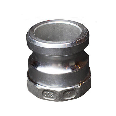 Camlock Type A 2 inch 50mm Aluminium BSP Camlocks Hose Pipe Joiner Pump Fitting