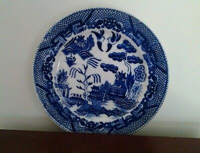 BLUE WILLOW JAPAN PLATE