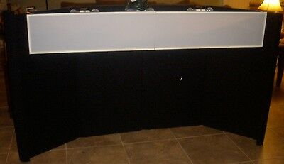 NIMLOK - EASY 3 TABLE TOP - TRADE SHOW BOOTH & SHIPPING CONTAINER, LIGHTS, ETC.