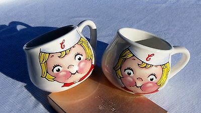 2 Campbell Soup Kids Collectible Cups