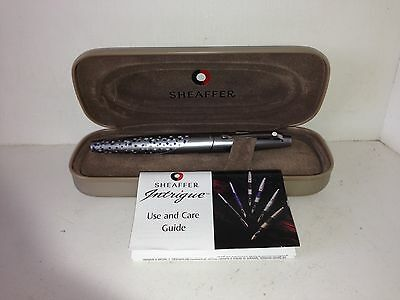 "SHAEFER "" INTRIGUE "" BALL POINT PEN WITH ORIGINAL CASE NEED REFILL"