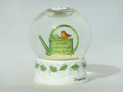 Marjolein Bastin Natures Sketchbook CANDLE WATER GLOBE