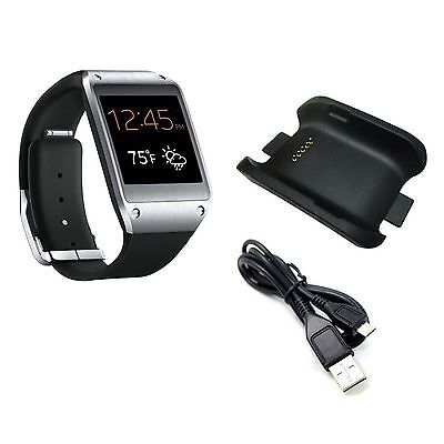 USB Charging Cable Charger Dock Cradle For Samsung Galaxy Gear SM-V700 Watch