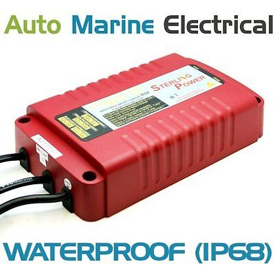 Sterling ProSport Waterproof Marine Battery Charger 12/24V 10/5A PS1255