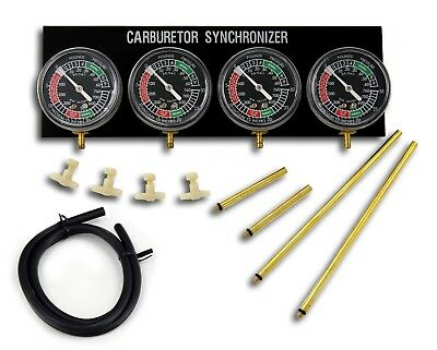 New Vacuum Gauge / Carburettor Synchronizer / Balancer - Motorcycle / Car Engine