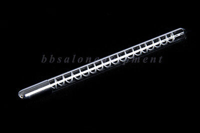 High Frequency Electrode Round Straight Wand Violet / Orange Light  Ray Facial