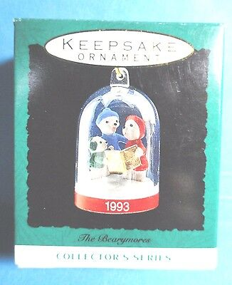 "Hallmark ""The Bearymores"" Miniature Ornament 1993"