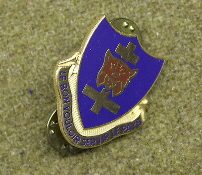 31375) Military Pin 323rd Infantry Regiment DI Crest Insignia Unit Medal Badge