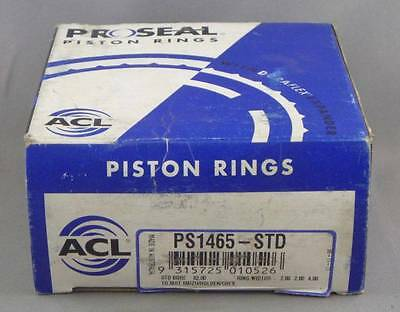 ACL Piston Rings PS1465 - STD Bore Suits Some 4 Cylinder, Isuzu, Holden, Chev,