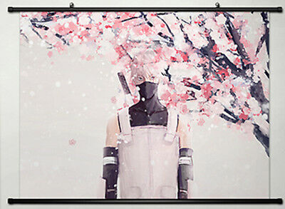 Home Decor Japan Wall poster Scroll Naruto SHIPPUDEN Hatake Kakashi 613