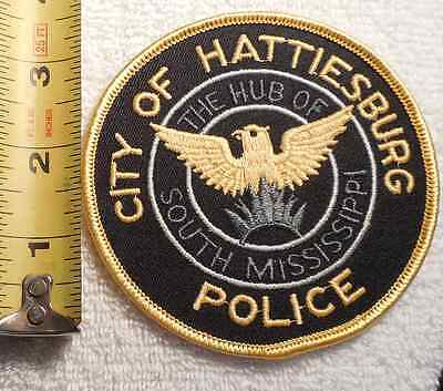 HATTIESBURG MISSISSIPPI POLICE PATCH (HIGHWAY PATROL, SHERIFF, EMS, STATE)