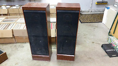 Vintage Soundesign Sound Design Model 0797PE Two Way Stereo Speakers Tower Floor