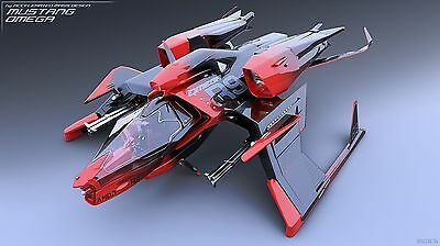 Star Citizen (PC) AMD Radeon Consolidated Outland Mustang Omega Racer package