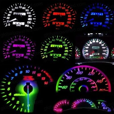 DIY LED Dash Upgrade KIT Fit Toyota Corolla Avalon Grande Blue Red Green Pink