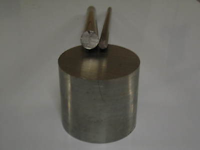 """Stainless Steel Round Bar 2.1/4"""" / 57mm dia x 250mm Long  Grade 304"""