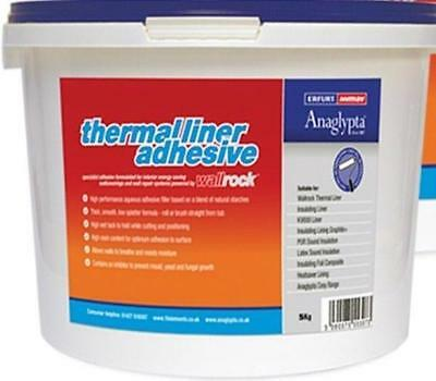 Wallrock Thermal Liner Adhesive 10kg by ErfurtMav Aqueous Prevent Mould Fungal