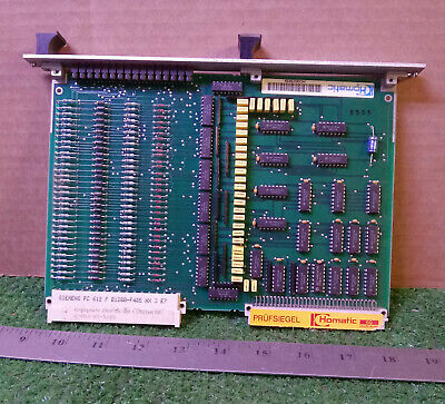 1 Used Homatic  2-083-01-5105 P/c Input Card / Board ***make Offer***