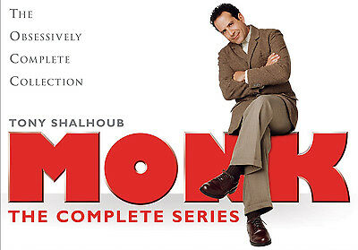 Monk: The Complete Series (DVD, 2010, 32-Disc Set,) !!! FREE SHIPPING !!!