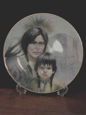 """PERILLOE """"CHEYENNE NATION"""" 1st issue America's Indian Heritage Collector Plate"""
