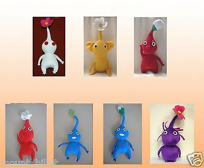 "12"" PIKMIN Plush Doll Collection lot of 7 dolls Great Christmas X'MAS Gift"