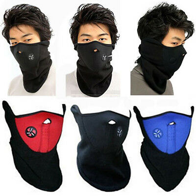 dfb12242fc0 Motorcycle Biker Winter Sport Face Mask Neck Warmer Veil Neoprene Ski  Snowboard