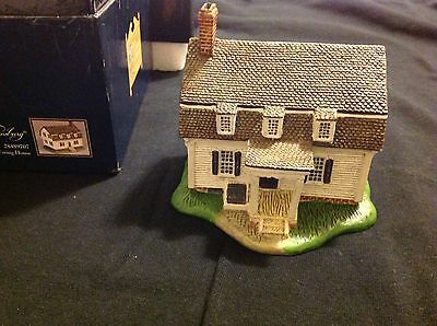 LANG AND WISE COLONIAL WILLIAMSBURG EWING HOUSE TOWN HALL COLLECTIBLES #20 & BOX