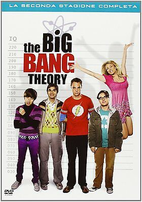 The Big Bang Theory - Stagione 2 (4 Dvd) Nuovo, Italiano