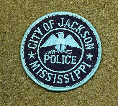 31550) Patch City of Jackson Mississippi Police Department Sheriff Law Enforce