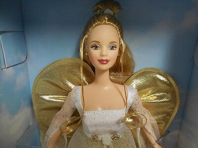 New Angelic Inspirations Barbie Doll  Angel Mattel Collect Or Play Singing Dove