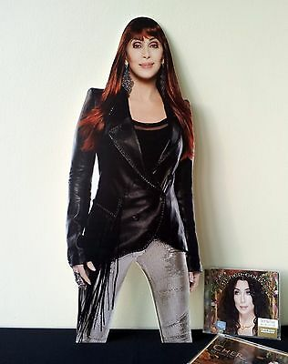 Cher Display STAND Standee NEW Closer to the Truth Woman's World Strong Enough
