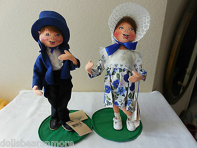"MINTWT! Annalee 13"" Jack & Jill From 1999 AND In Mint Condition wTags! VINTAGE!"