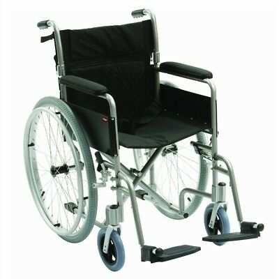 Lightweight folding wheelchair self propel 8.5kg carry weight self propelled