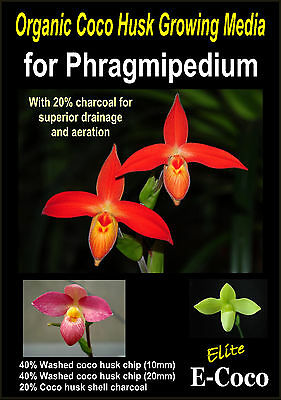 ORGANIC ORCHID BARK SUBSTITUTE WITH ADDED CHARCOAL ELITE ORCHID COMPOST