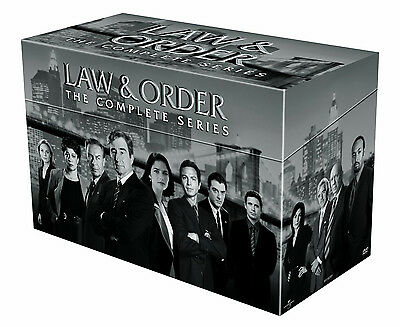 LAW AND ORDER COMPLETE SERIES SEASONS 1-20