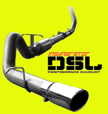 """4"""" Turbo Back Stainless Exhaust 99-03 Ford F-250 F-350 Powerstroke Diesel 7.3L"""