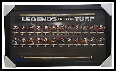 Greatest Horses of the Last 50 Years L/E Print Framed - Kingston Town Manikato