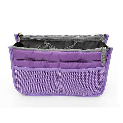 New girl's Storage bag womens cosmetic bag Purple color wash bag Free shipping