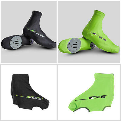 Bicycle Bike Windproof Shoe Covers Cycling Zippered Overshoes Sportwear OK
