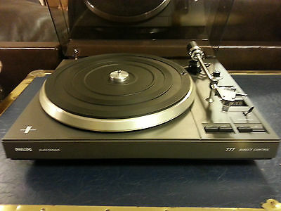 PHILLIPS 777 TURNTABLE Direct Control & Full Auto. Fully working & Serviced done
