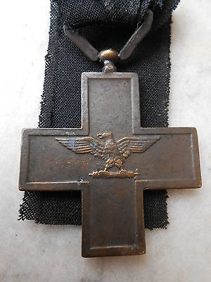 "MEDAL RSI FOR "" VALORE MILITARE "" ITALY 1943"